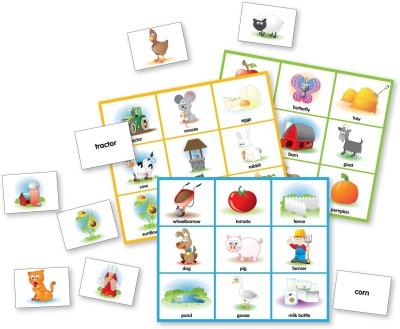 The Learning Journey Match It! Farm Bingo