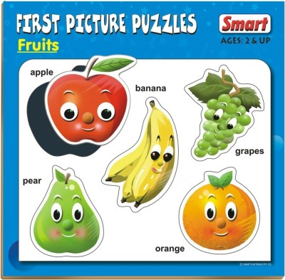 Smart First Picture Puzzles - Fruits