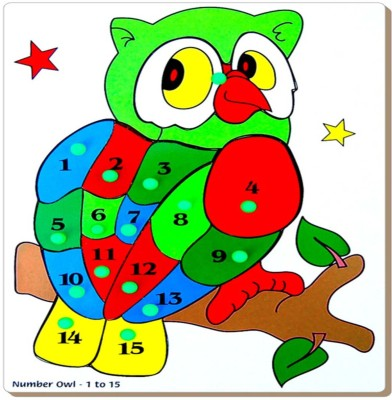 Tomafo INSET TRAY LARGE-OWL (1 TO 15)