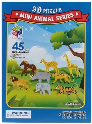 Magic Puzzle Mini Animal Series 3D Puzzle