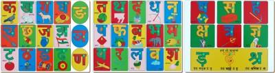 Little Genius Hindi Consonants Picture