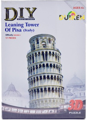 Duiken 3D Puzzle - Leaning Tower Of Pisa