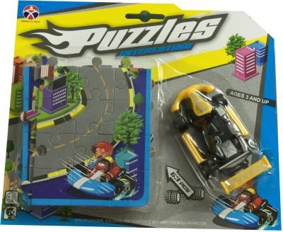 Splen-Da-Did Toys City Car Puzzle