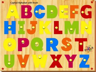 Kinder Creative Capital Alphabet with Knobs