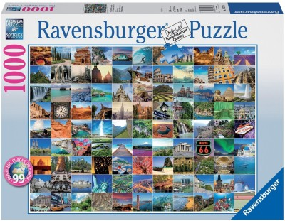 Ravensburger 99 Beautiful Places on Earth Jigsaw