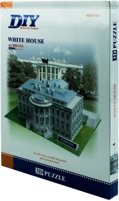 Duiken 3D Puzzle - The White House