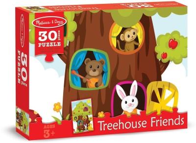 Melissa & Doug Treehouse Friends Cardboard