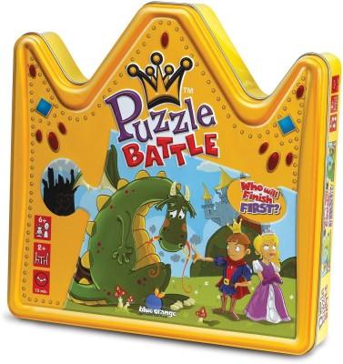 Blue Orange Puzzle Battle Dragon & Princess