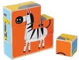 Hape Hape-Wooden Zoo Animals Block Puzzl...