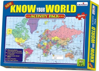 Creative Education Know Your World-Activity Pack