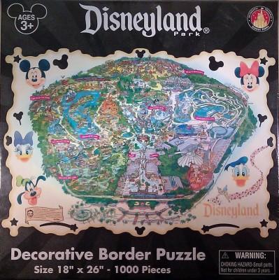 Disney Disneyland Theme Park 1000 Piece Jigsaw Puzzle