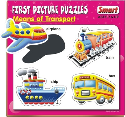 Smart First Picture Puzzles - Means of Transport