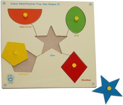 Skillofun Skillofun Junior ,Shapes, Shape Tray - Triangle