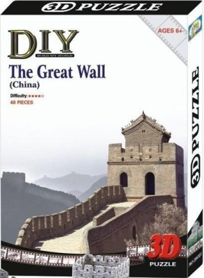 Duiken 3D Puzzle - The Great Wall
