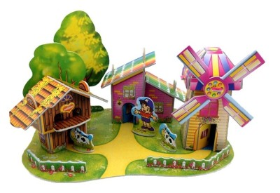 Lionsland Farm House 3D Puzzle