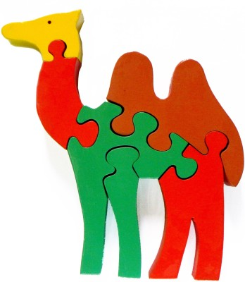 wood o plast Camel Jigsaw Puzzle