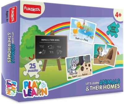 Funskool Play & Learn - Animals & Their Homes
