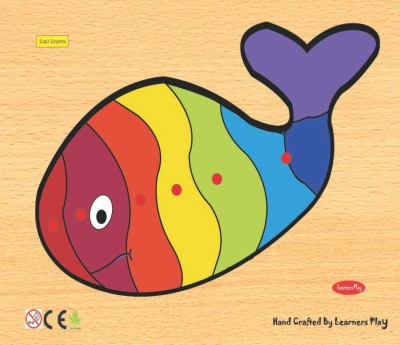 Learner's Play Fish Knob Puzzle