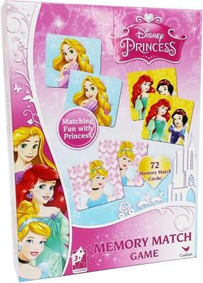 Cardinal Princess Memory Match Games