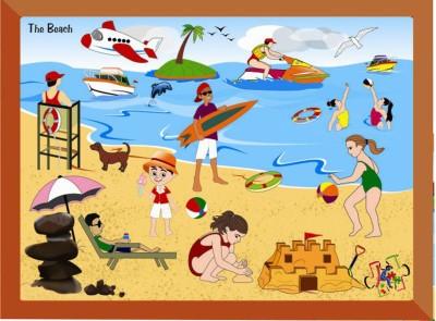 Kinder Creative The Beach