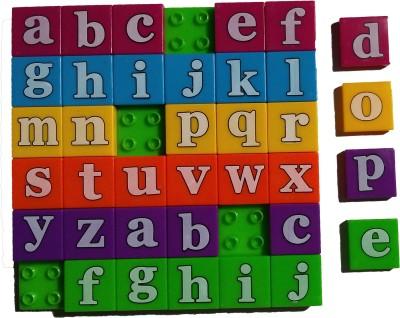 Hrinkar English Alphabet Tray-Lowercase Toy For Kids