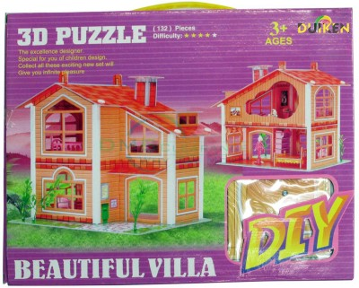 Duiken 3D Puzzle - Beautiful Villa