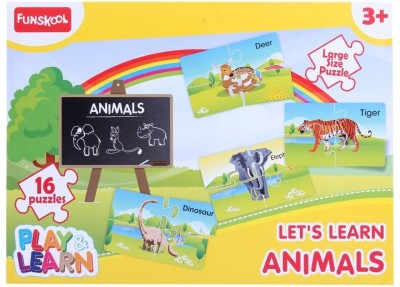 Funskool Animals Puzzles Fun Game