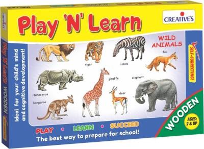 Creative's Creative's Play 'N' Learn - Wild Animals