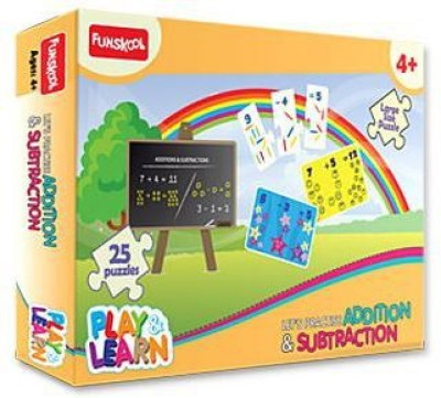Funskool Let,S Practise Addition & Subtraction