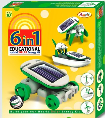 Speoma Annie 6 In 1 Educational Hybrid Solar Energy Kit Series - 1