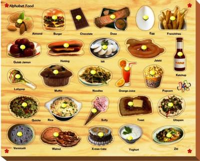 Kinder Creative Alphabet Food with Knobs