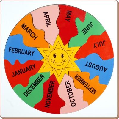 Little Genius Jigsaw Month's Puzzle