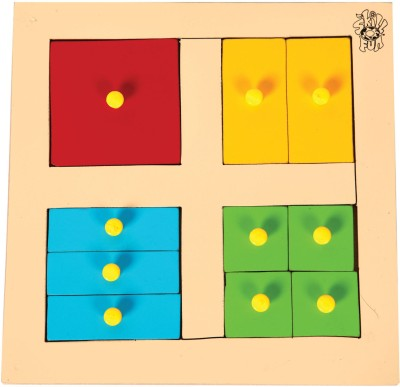 Skillofun Skillofun Parts of Square Tray (With Knobs)