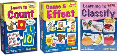 Smart Learn to Count, Cause & Effect and Learning to Classify