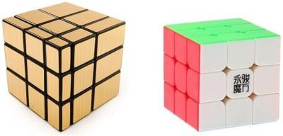 Vaibhav Combo ShengShou 3 * 3 & Crs 3 * 3 Mirror Cube