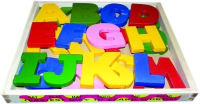Kinder Creative Wooden Capital Alphabet Block Set