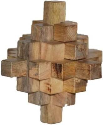 Mabkraft Wooden Puzzle (19 pieces)