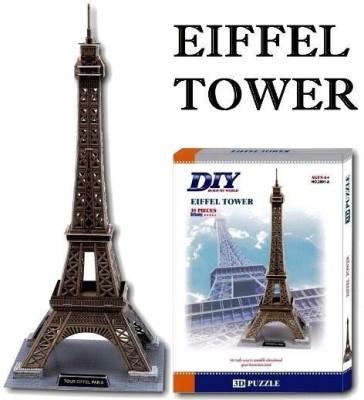 Duiken 3D Puzzle - Eiffel Tower