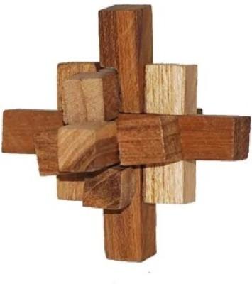 Mabkraft Wooden Puzzle (9 pieces)