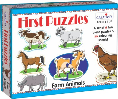 Creative's Creative's First Puzzles-Farm Animals