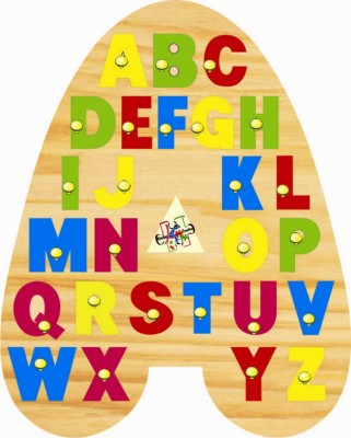 Kinder Creative A Shaped Alphabet