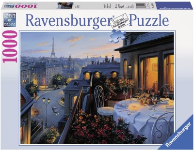 Ravensburger Paris Balcony Jigsaw Puzzle