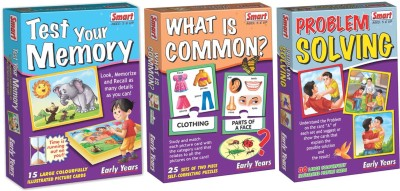 Smart Test Your Memory, What is Common & Problem Solving Combo Pack
