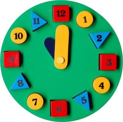 TOMAFO Circle Clock (Green)