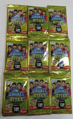 TOPPS CRICKET ATTAX