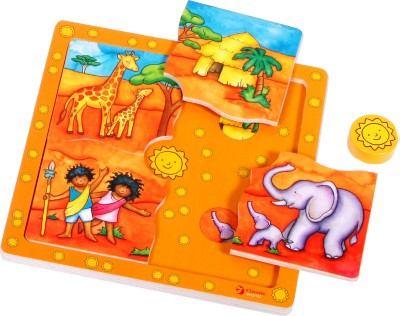 Classic World Toys Classic Toys Your World - My World Puzzle