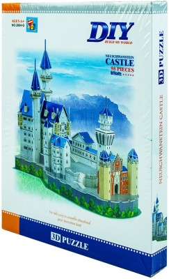 Mera Toy Shop Diy-Neuschwanstein Castle