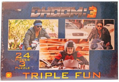Dhoom 3 Triple Puzzle