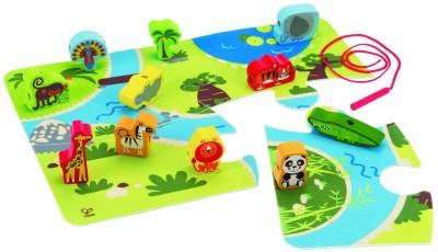 Hape Early Explorer On Safari Playset
