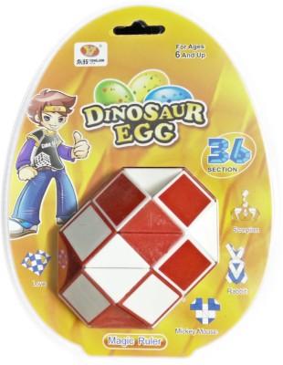 ShopperBay Mega Snake 36 Piece Puzzle Red